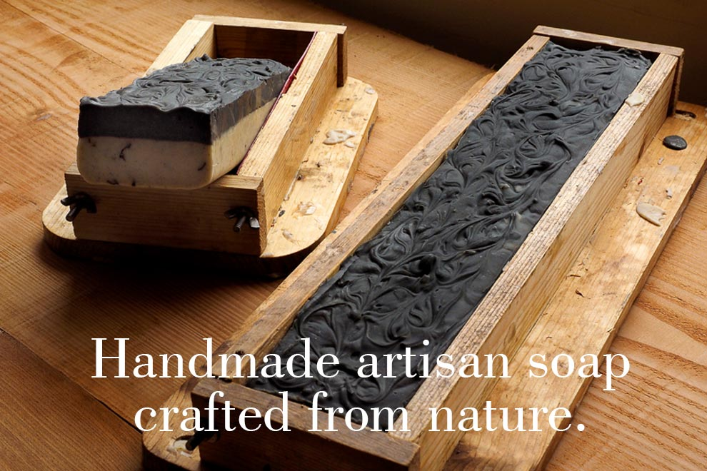 Handmade artisan soap crafted from nature.