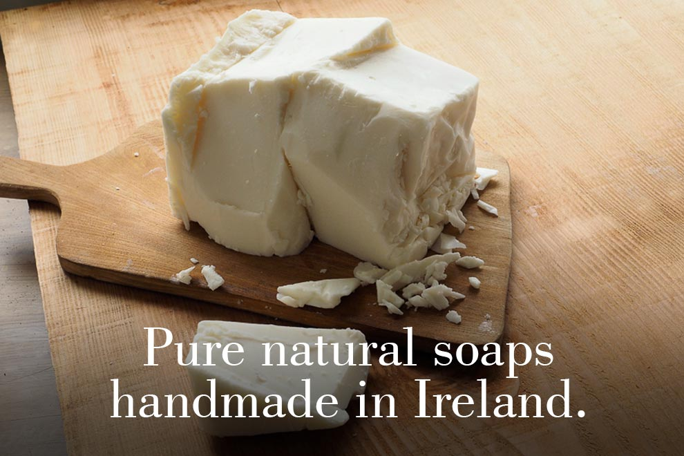 Pure natural soaps handmade in Ireland.