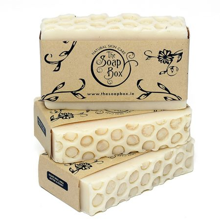 3 Goat's Milk, Shea Butter and Honey Soap