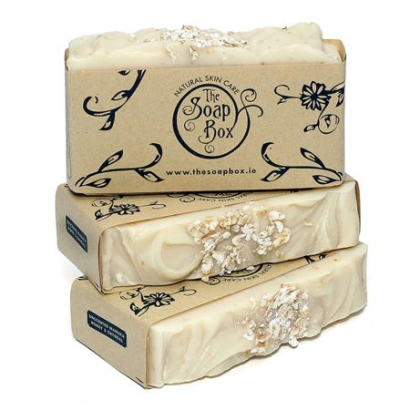 3 Unscented Manuka Honeyt & Oatmeal Soaps