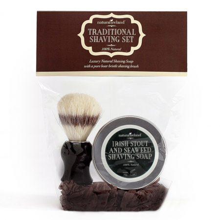 Irish Stout & Seaweed Shaving Set