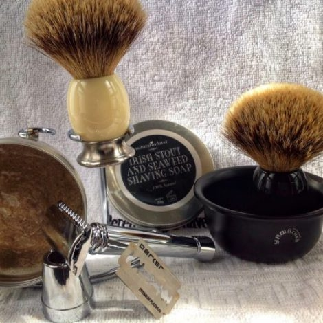 Natural Shaving Soaps
