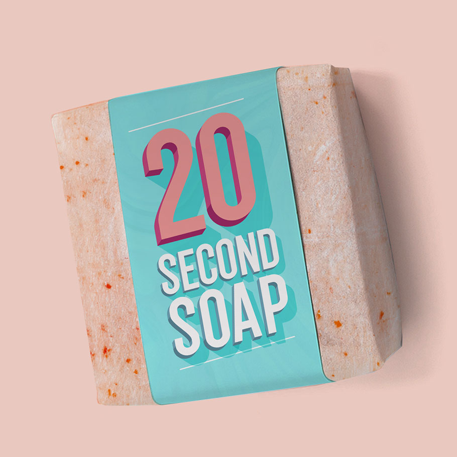 20 second soap