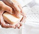 Natural Bar of Soap for handwashing