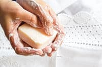 Natural Bar of Soap for handwashing