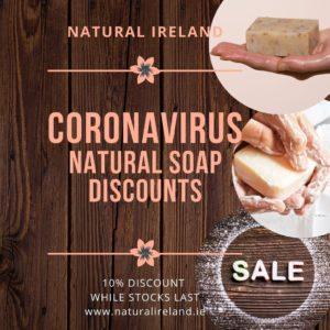 Natural Handmade Soap Sale for the Coronavirus Pandemic